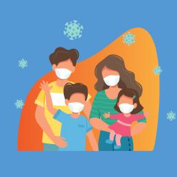 Como proteger a família contra COVID-19